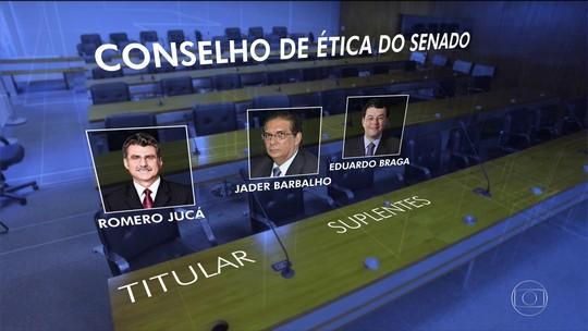 Três integrantes do Conselho de Ética do Senado são investigados