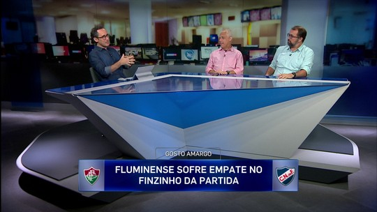 Redação SporTV analisa empate do Fluminense na Copa Sul-Americana