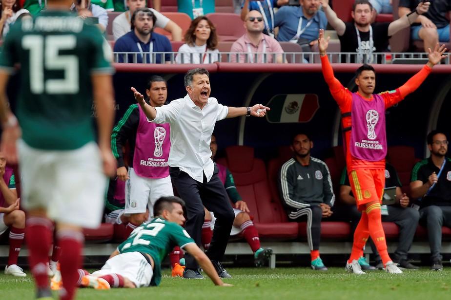 Osório descarta favoritismo do México no grupo e alerta para Suécia: