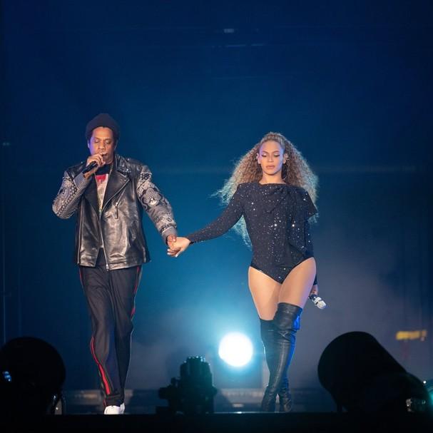 Beyoncé na turnê OTR II (Foto: Reprodução)