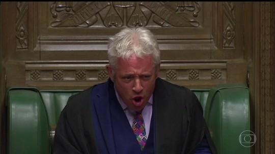 Presidente do parlamento britânico se aposenta