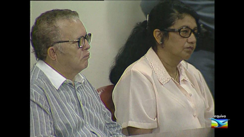 Luís de Moura Silva era delegado e Ilce Gabina de Moura Silva era policial na época do crime (Foto: Arquivo/TV Mirante)