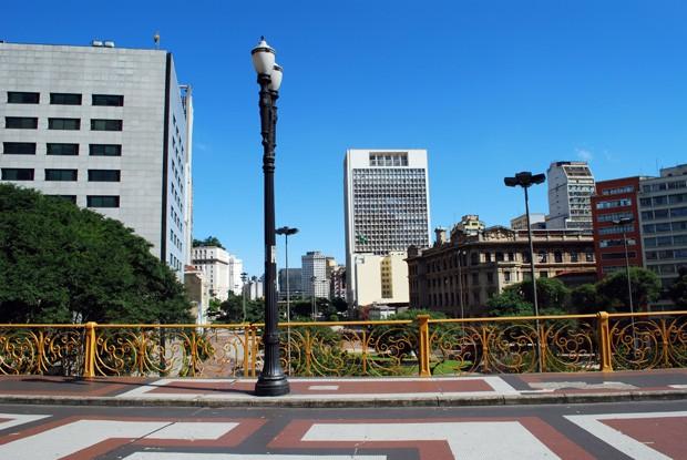 Viaduto Santa Ifigênia, Vale do Anhangabaú, São Paulo, SP, Brazil (Foto: Getty Images)