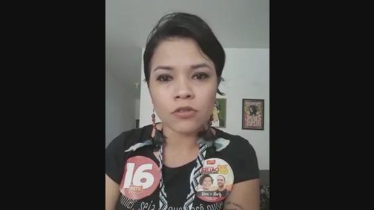 Candidata ao governo de SC Ingrid  (PSTU) responde perguntas do G1