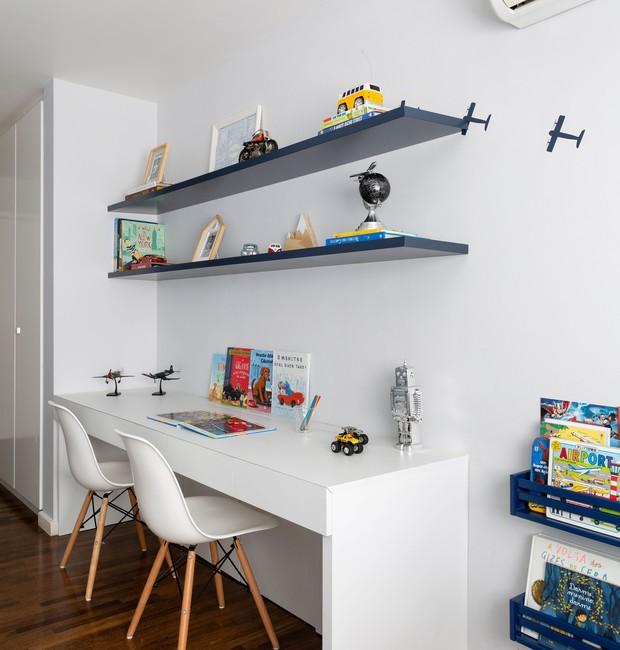 Área de estudo Karen Pisacane (Foto: Julia Ribeiro/Divulgação)