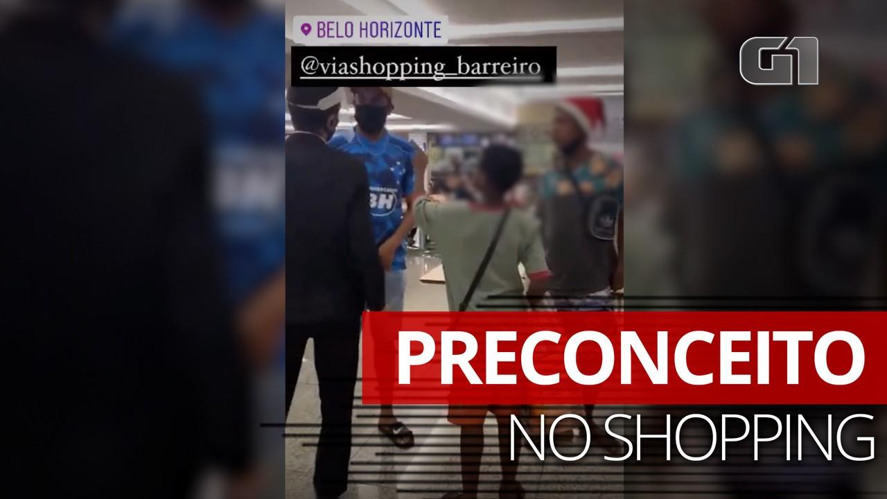 Vídeo de segurança abordando meninos negros que lanchavam em shopping de BH causa revolta