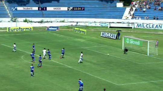 Laranjeira tabela bonito e quase marca o segundo do Vasco com 10' do 2º tempo