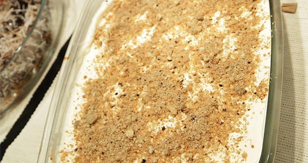 Torta de bolacha com café (Foto: Casa e Comida)