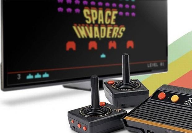 O Atari Flashback 7 vem com 101 jogos na memória, mas peca pela ausência de clássicos (Foto: Divulgação)