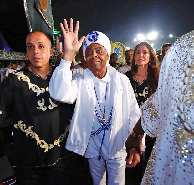 Gilberto Gil (Foto: Eduardo Saraiva/ Ed. Globo)