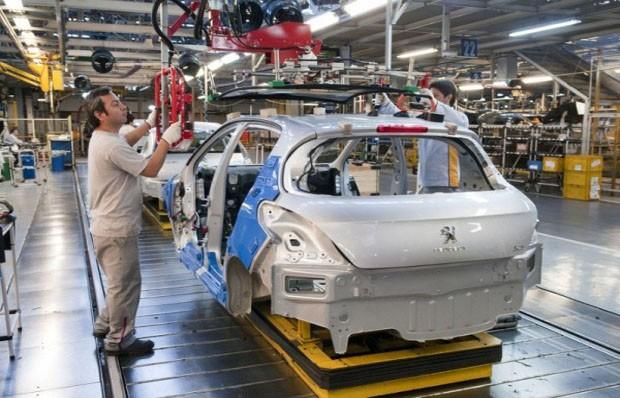 Fábrica da Peugeot (Foto: Divulgação)