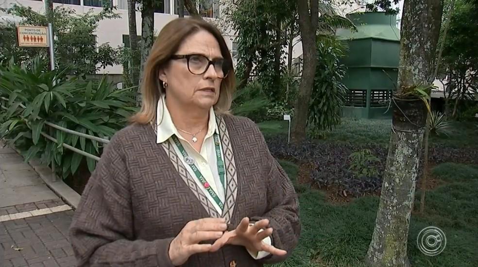 Diretora da Secretaria do Meio Ambiente defende a iniciativa de abater as capivaras — Foto: Reprodução/TV TEM