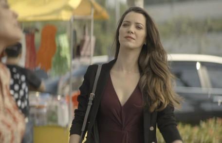 No sábado, Maria da Paz irá procurar Fabiana (Nathalia Dill) para avisar que recuperou a fábrica Reprodução