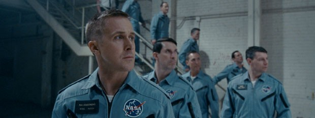 Cenas de O Primeiro Homem, filme com Ryan Gosling (Foto: Divulgação/NBCUniversal)