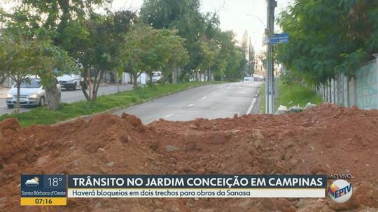 Avenida Carlos Grimaldi, em Campinas, terá interdição nesta quarta