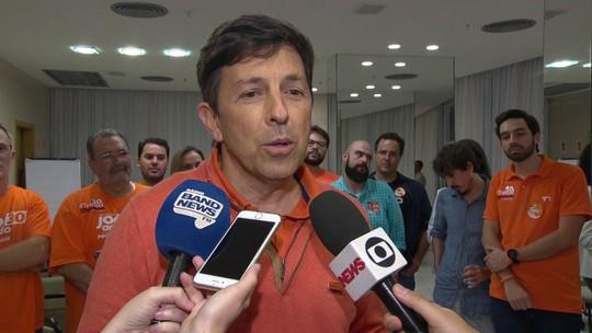 Amoêdo diz que diretório decidirá apoio no 2º turno, mas que não será ao PT