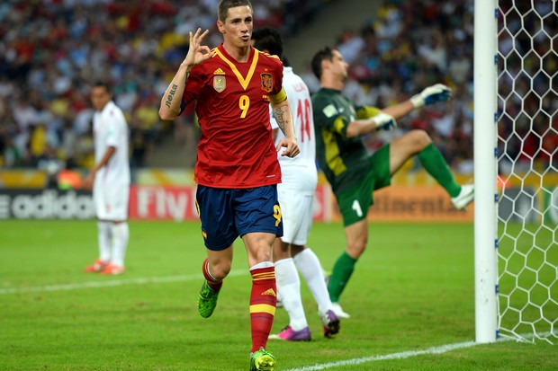 Fernando Torres comemora (Foto: Getty Images)