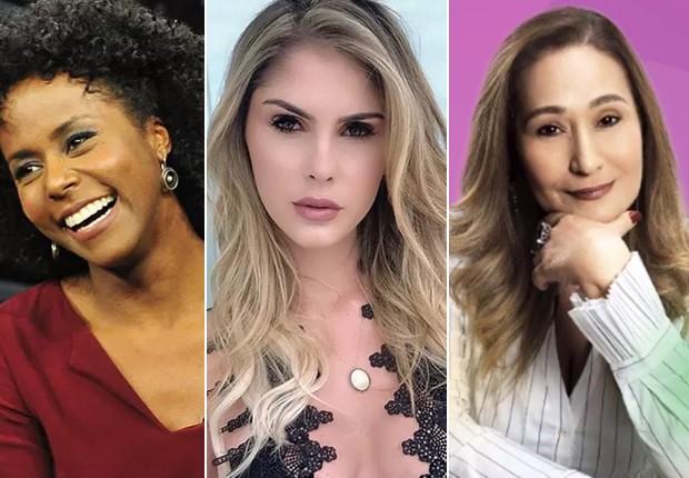 Maria Julia Coutinho, Bárbara Evans, Sonia Abrão (Foto: Reprodução/Instagram)