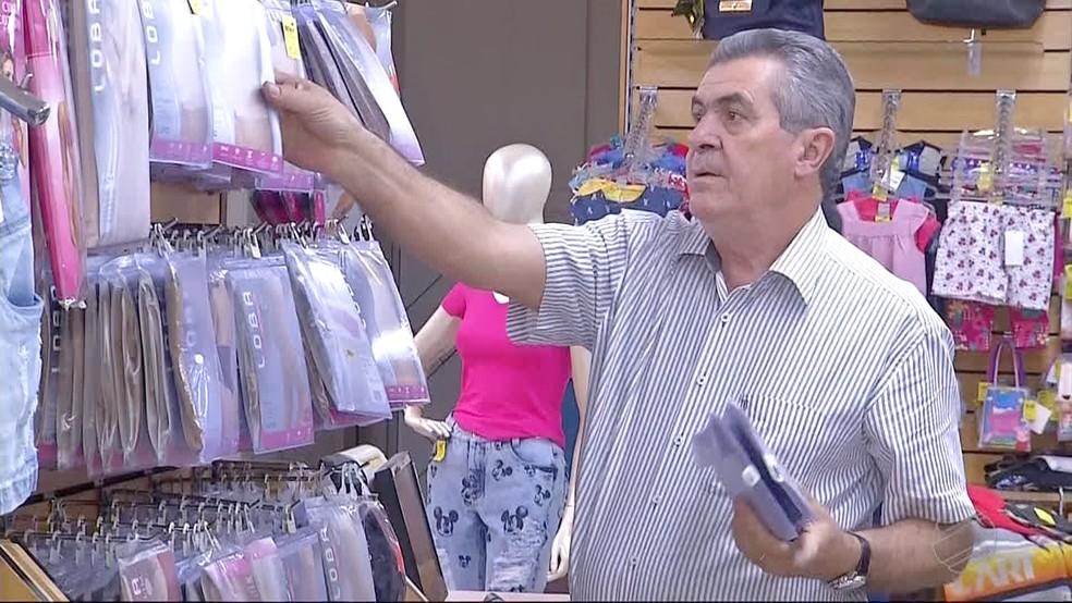 Comerciante Valter Alegrete (Foto: Reprodução/TV Morena)