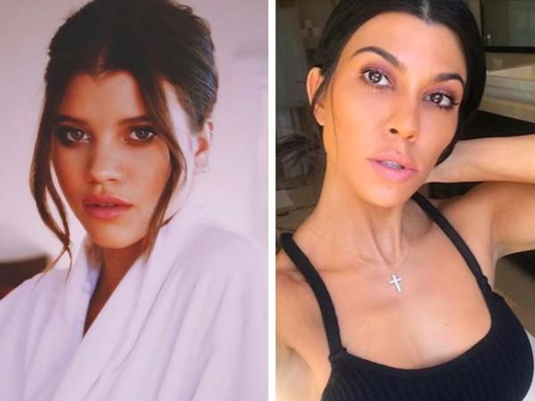 A modelo Sofia Richie e a socialite Kourtney Kardashian (Foto: Instagram)