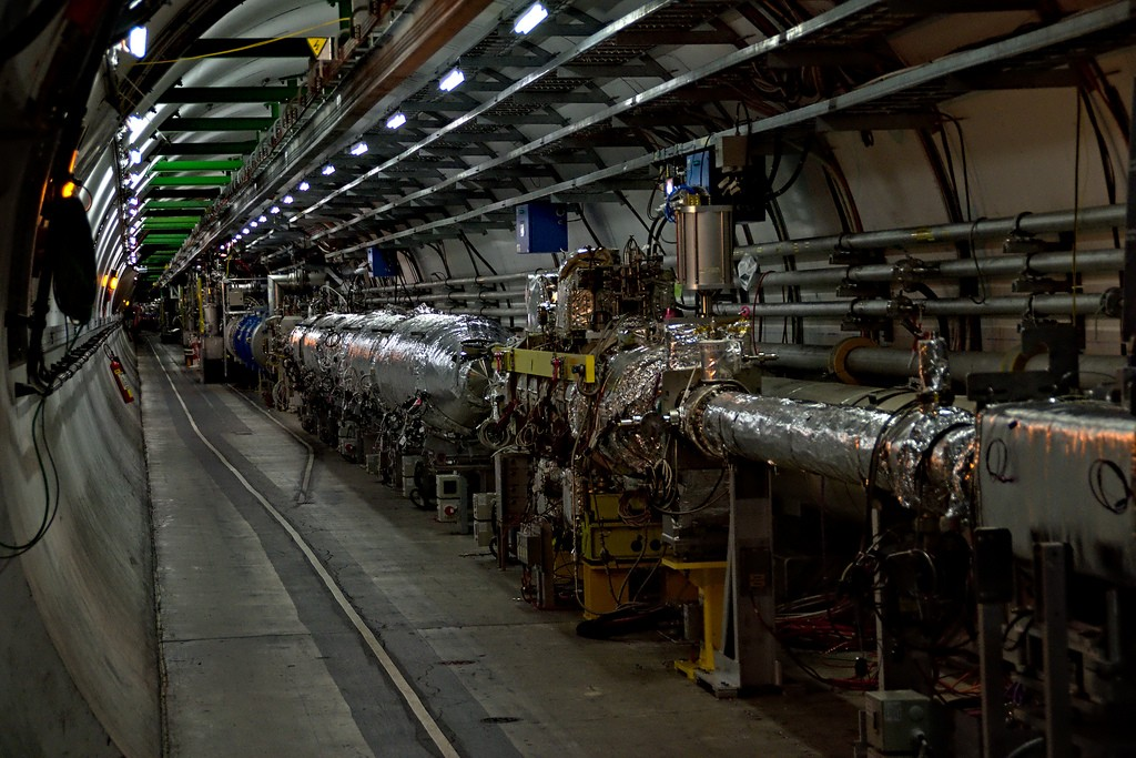 Grande Colisor de Hádrons (LHC) do CERN (Foto: Flickr/Frank Weber/Creative Commons)