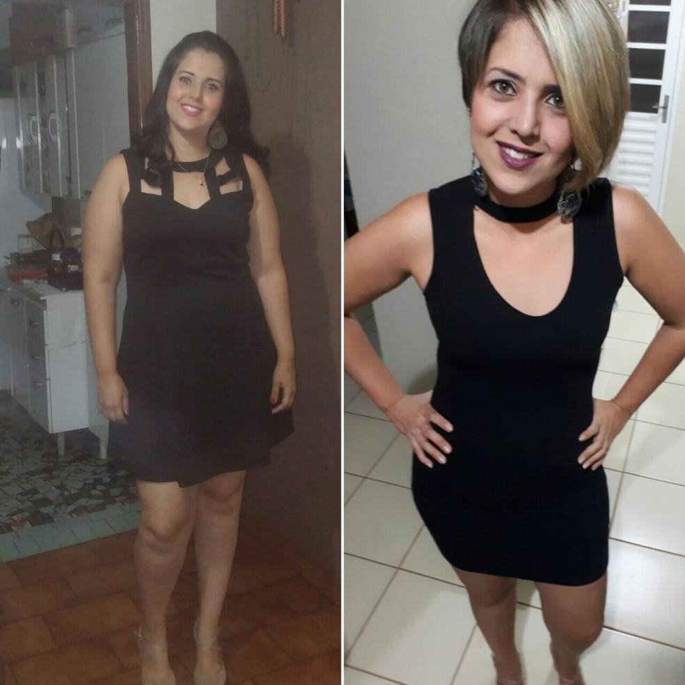 Amanda Carvalho - emagrecimento Rio Preto  (Foto: Arquivo Pessoal)