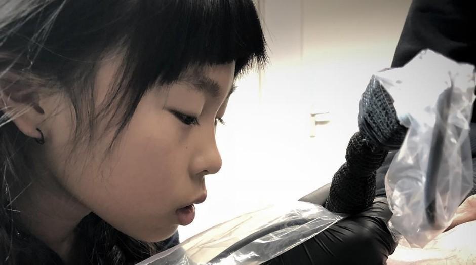 Noko Nishigaki tem apenas 10 anos (Foto: Reprodução/Instagram)
