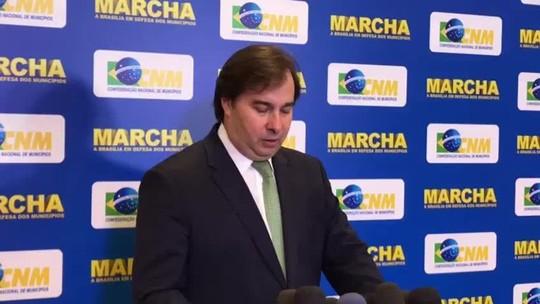 Maia diz negociar corte 'provisório' de mais um imposto sobre diesel