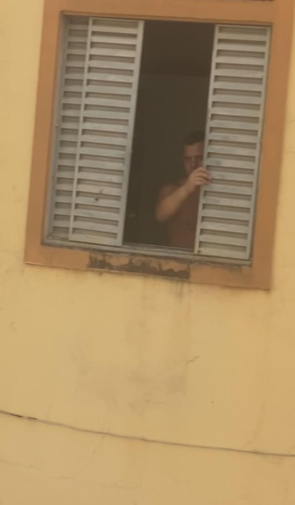 """Vitor Batista: na delegacia, ele alegou que era """"apenas"""" uma briga de casal — Foto: Reprodução/Redes sociais"""