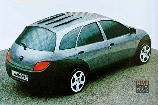 Ford Ka Em Versao Perua Eles Pensaram Nisso Em 1998 Autoesporte Noticias