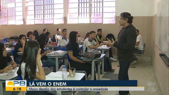 Enem 2019: estudantes na Paraíba enfrentam ansiedade antes da prova