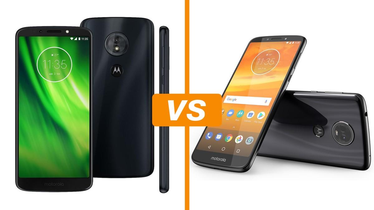 a5730a9a3 Moto G6 Play vs Moto E5 Plus  bateria potente se destaca em celulares