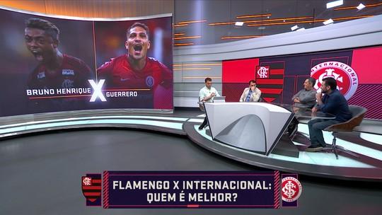 Quem é melhor? Seleção SporTV forma time ideal com jogadores de Fla e Inter