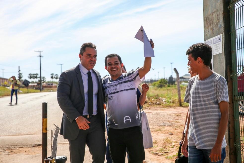 Antônio Cláudio foi preso durante cinco no lugar de homem que estuprou oito mulheres em Fortaleza — Foto: Natinho Rodrigues/G1