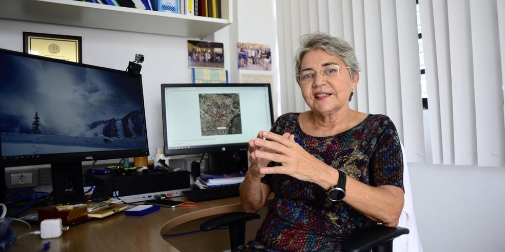 Selma Jerônimo, médica pesquisadora da UFRN e diretora do Instituto de Medicina Tropical — Foto: Cícero Oliveira/UFRN
