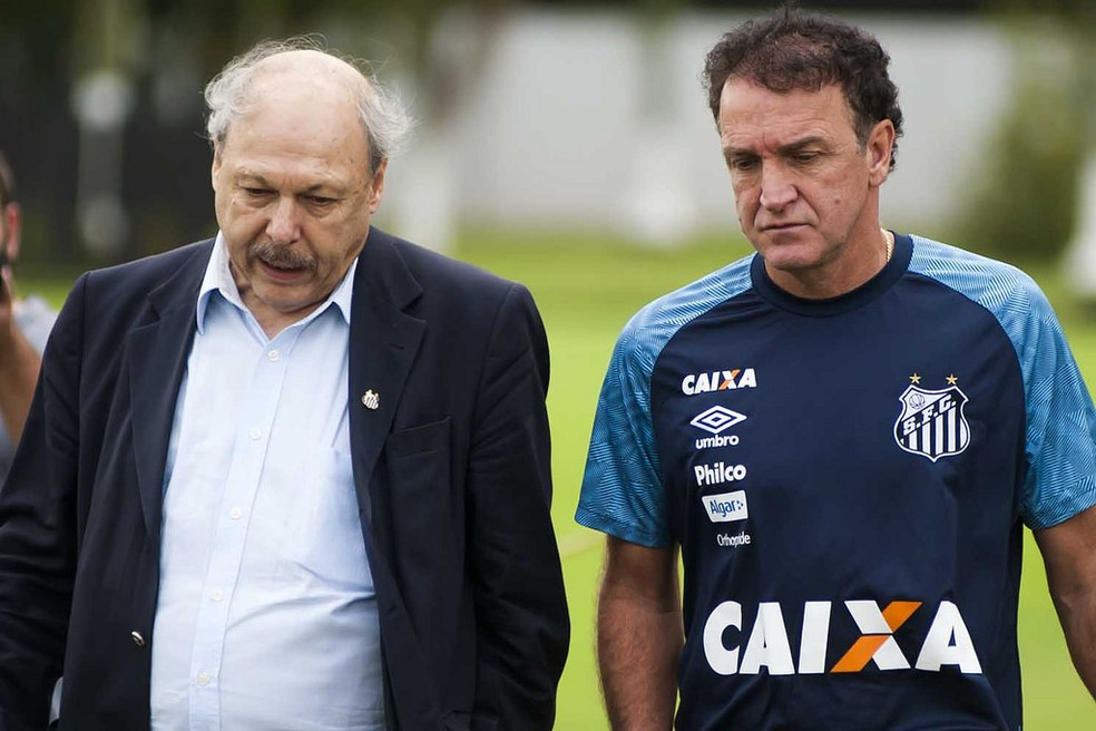 José Carlos Peres rebateu declarações de Cuca (Foto: Ivan Storti/Santos FC)