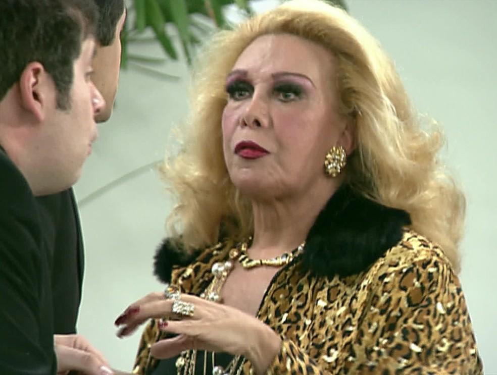 A atriz Rogéria (Foto: Reprodução/ TV Globo)