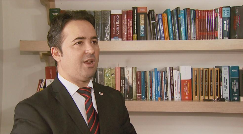Fábio Gama Leite diz que defesa vai recorrer — Foto: Régis Melo