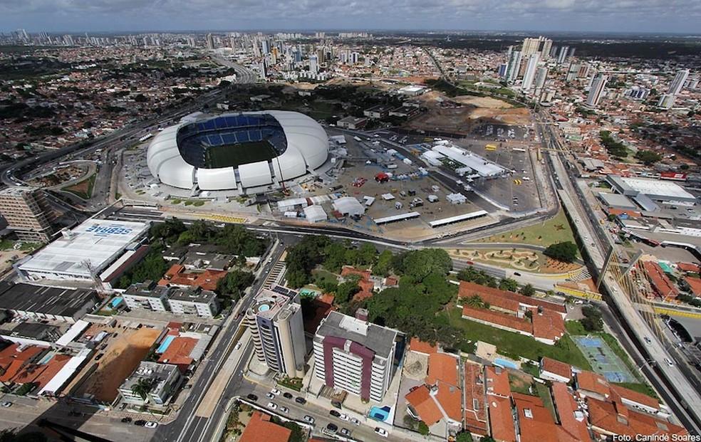 Com cidade mais vertical e mais prédios, população pode ter sentido mais o tremor — Foto: Canindé Soares/Ascom-RN