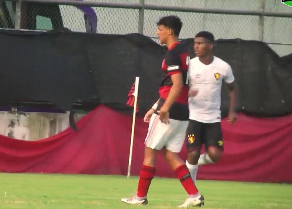 Com pênalti no fim, Flamengo vence o Sport e vai à semifinal da Copa do Brasil Sub-17