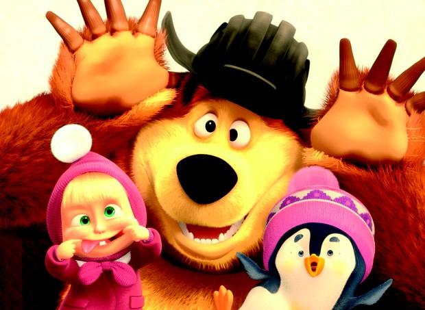 Filme Masha E O Urso Agrada A Criancas Pequenas Revista