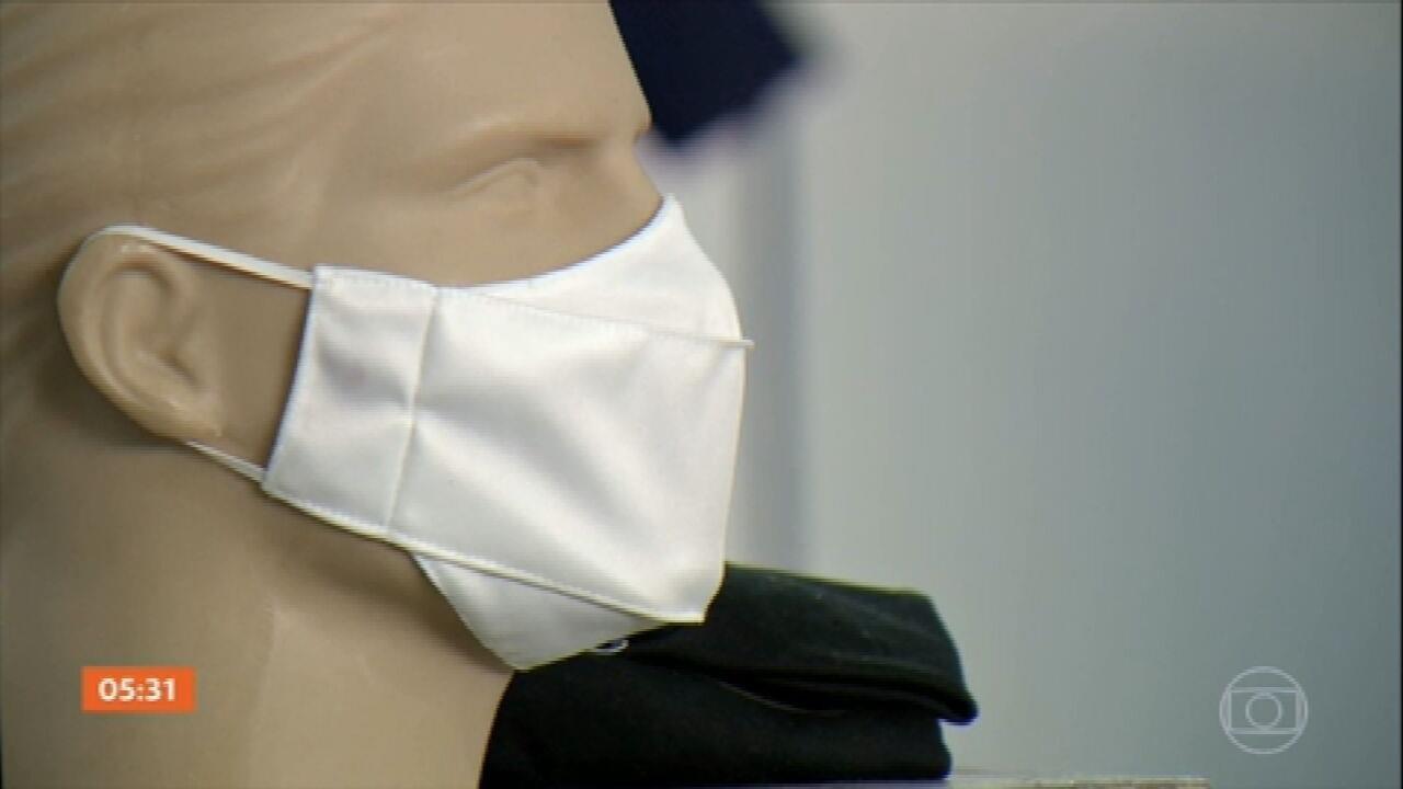 Comércio de máscaras está mais aquecido do que nunca