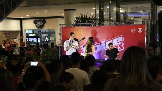 Veja os bastidores do pocket show que reuniu participantes do The Voice Kids em Campinas