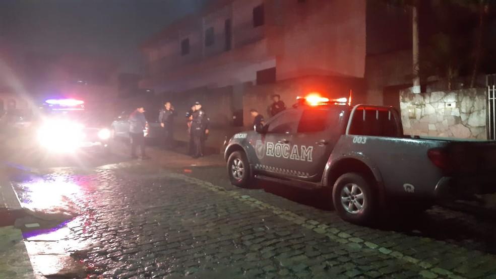 Perseguição contou com apoio da Rocam — Foto: Sérgio Henrique Santos