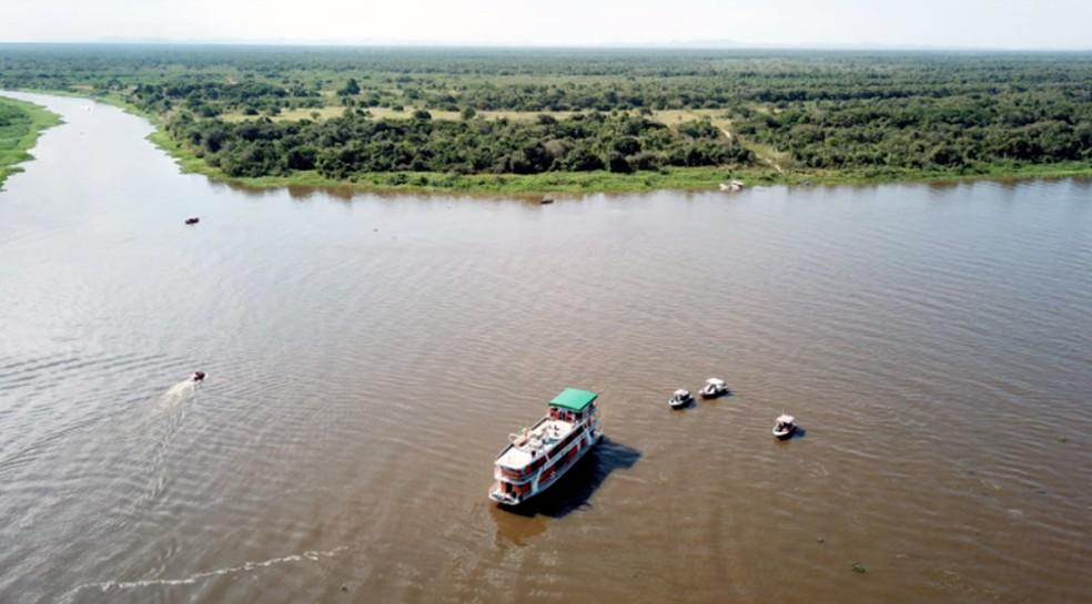 Rio Paraguai — Foto: Governo de MS/Divulgação