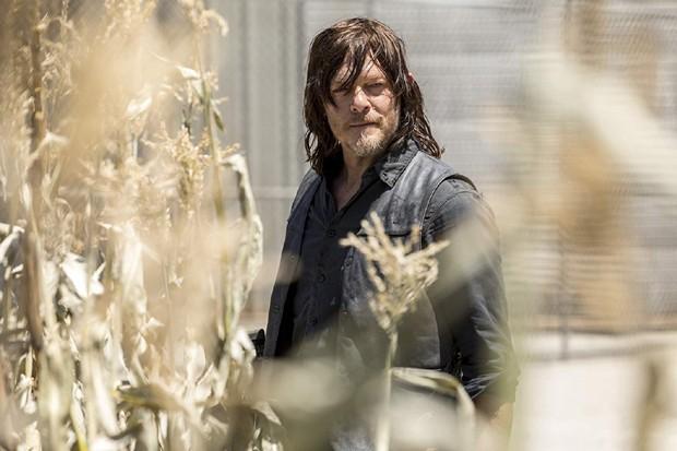 Norma Reedus (Daryl Dixon) em cena da nova temporada de The Walking Dead (Foto: Divulgação/Jackson Lee Davis/AMC)