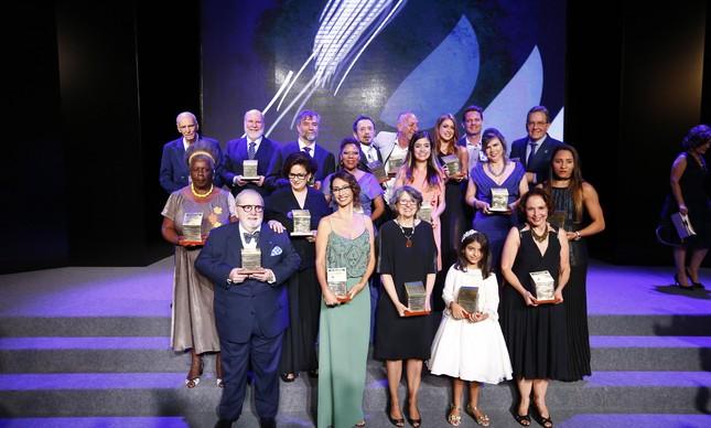 Os vencedores da 14ª edição do Prêmio Faz Diferença