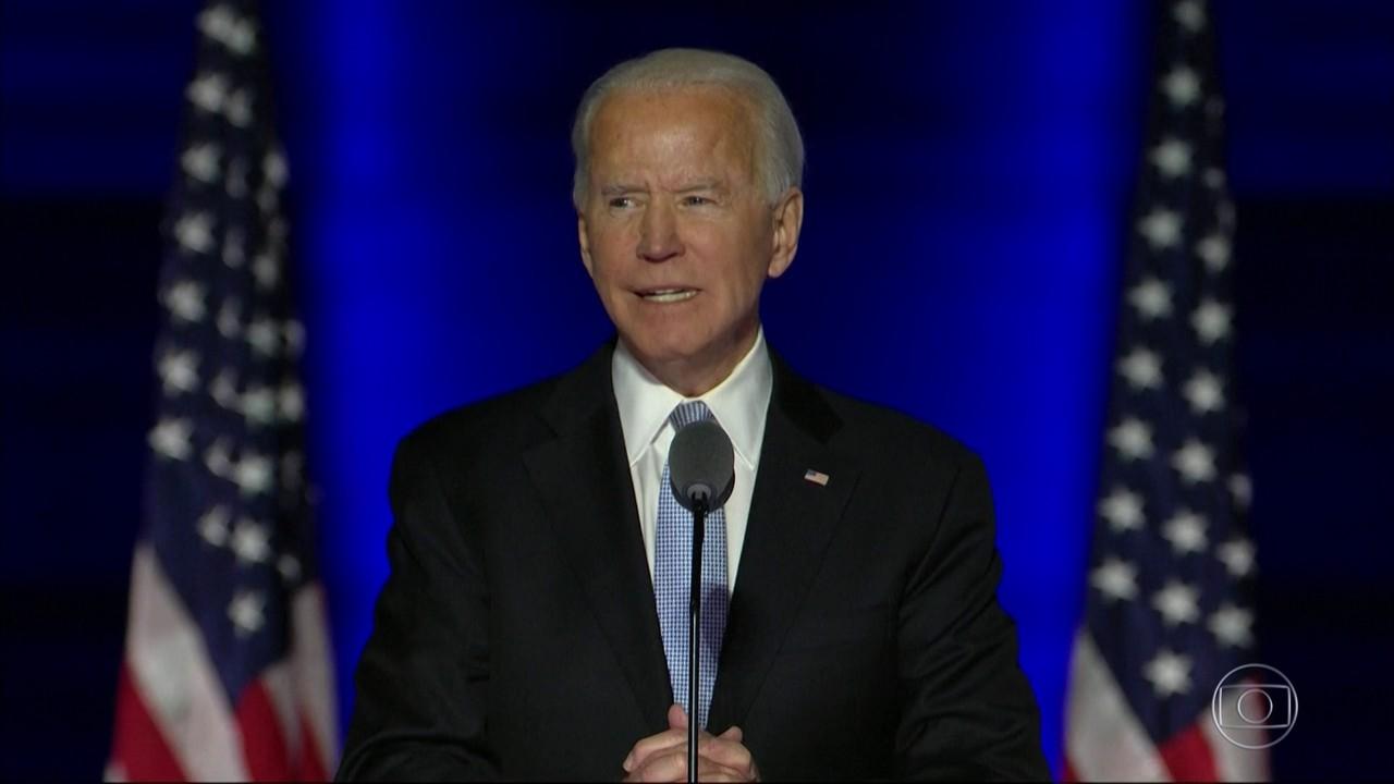 Boletim: Joe Biden faz primeiro discurso como presidente eleito dos Estados Unidos