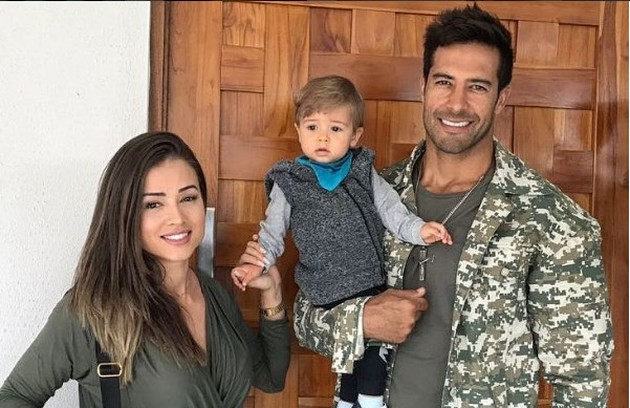Beto Malfacini e Aryane Steinkopf participaram do programa em 2013. Os dois se casaram e tiveram um filho, Aarão, hoje com 1 ano. Os dois continuam trabalhando como modelos e ela se formou em nutrição (Foto: Reprodução/instagram)