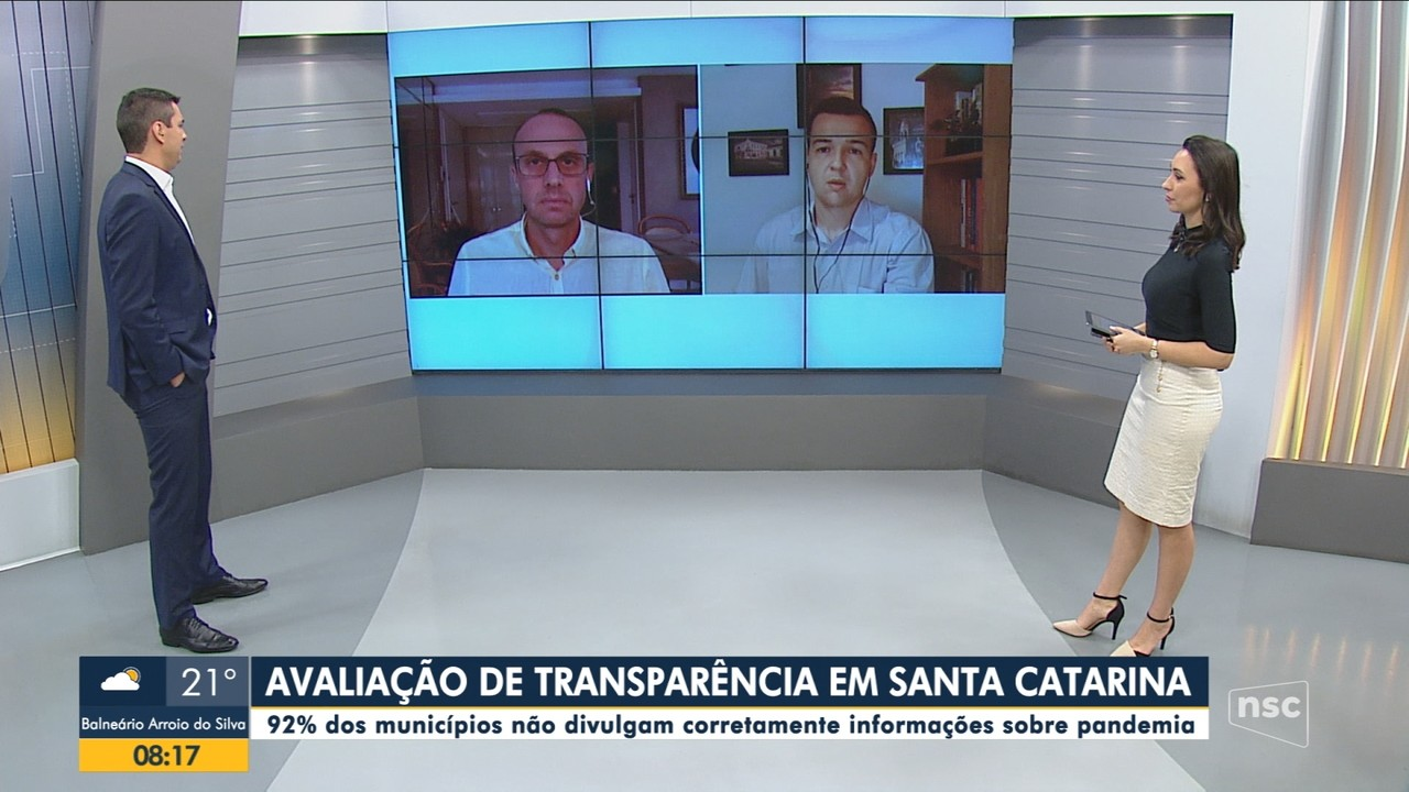 Ânderson Silva e Renato Igor comentam transparência em SC